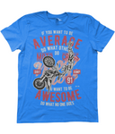 Awesome Motocross - Anvil Fashion Basic T-Shirt