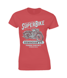 SuperBike - Gildan Ladies Premium Cotton T-Shirt