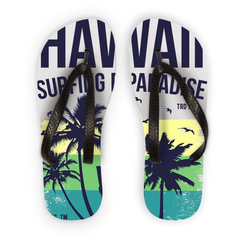 Hawaii Endless Summer Kids Flip Flops