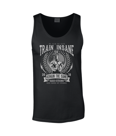 Train Insane - Gildan SoftStyle Tank Top