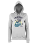 California West Coast v2 - AWDis Girlie College Hoodie - Biker T-Shirts UK