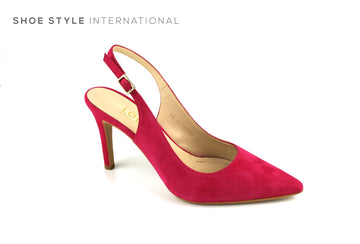 Lodi Shoes, High Heel Slingback, closed Toe, Fuschia Colour, Shoe_Style_International-Wexford-Gorey-Ireland