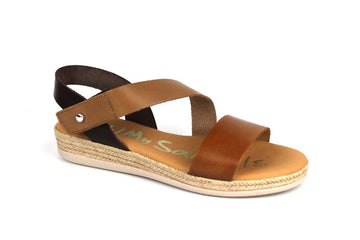Oh My Sandals  4668 Tan