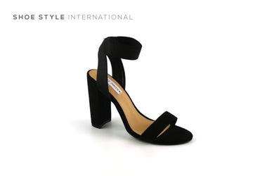 Steve Madden High Heel Sandals in Black Suede, Shoe_Style_International-Wexford-Gorey-Ireland