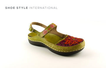 Laura Vita Shoes Casual shoe with a Closed Toe, Colour Green, Shoe_Style_International-Wexford-Gorey-Ireland