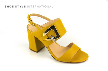 Evaluna 3031 Mustard Open Toe Sandal with Slingback Ireland Shoe Shops online, Shoe Style International, Location Wexford Gorey, Ireland