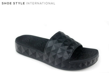 Ash Splash Black Slidder, slip-on, Colour Black Shoe Style International Wexford Gorey Ireland
