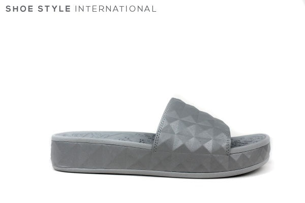 Ash Splash Grey Slidder, slip-on, Colour Grey Shoe Style International Wexford Gorey Ireland