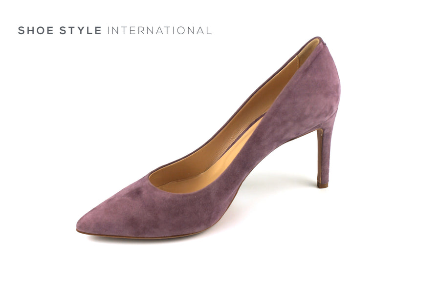 Evaluna 1606 Colour Lavender in Suede finish high heel court shoe, Ireland Shoe Shops online, Shoe Style International, Location Wexford Gorey, Ireland