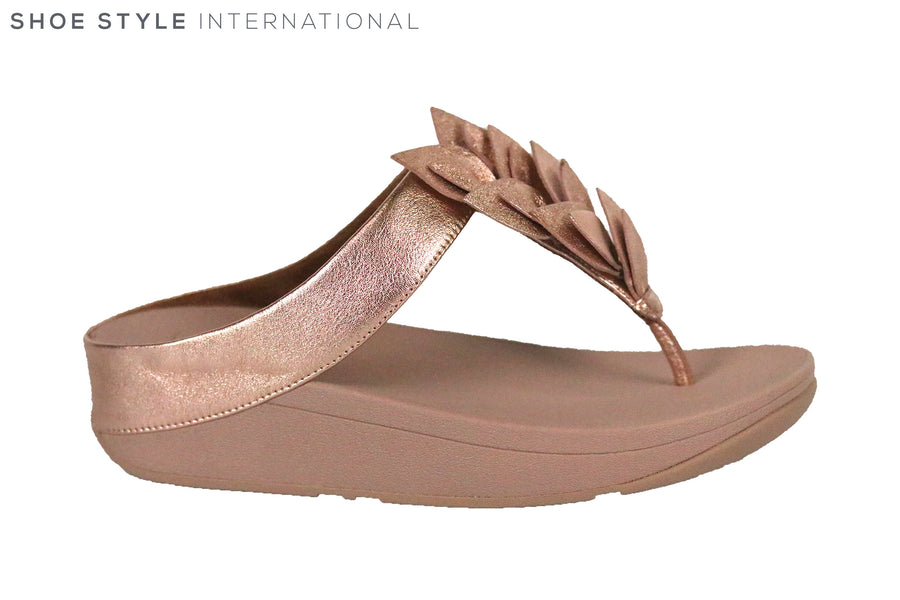 Fit Flop Fino Leaf Rose Gold