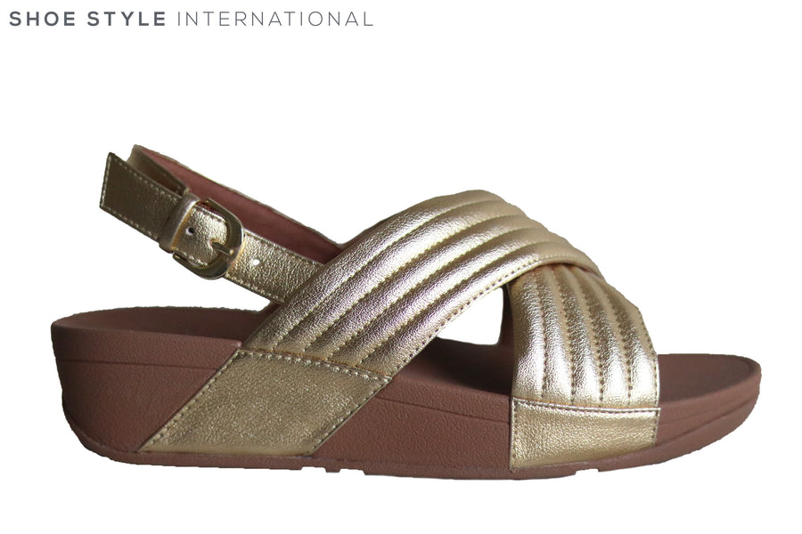 Fit Flop Lulu Padded Gold
