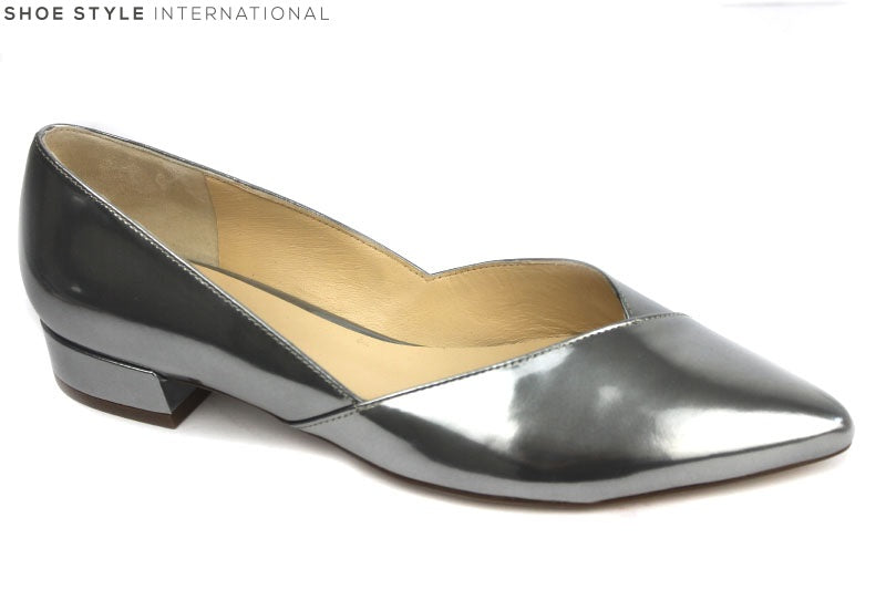 Hogl 10 2024 ballet pumps with pointed toe, colour pewter, shoe style international Wexford Gorey Ireland