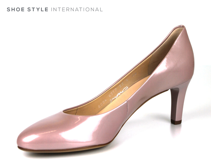Hogl 6004, Classic Medium Heel with a closed toe, Almond shape toe shape, Colour Mauve, Ireland Shoe Shops online, Shoe Style International, Location Wexford Gorey, Ireland