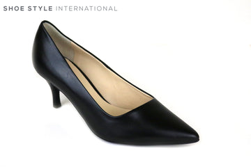 Hogl 6142, Hogl Shoes, Classic Low Heel Court shoe, Colour Black, Shoes Online Ireland, Shoe Style International