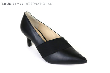 Hogl 6710, Classic Low Heel Pointed Toe Shoe, Colour Black, Occasion wear, work wear, Shoe Style International, Wexford, Gorey, Ireland