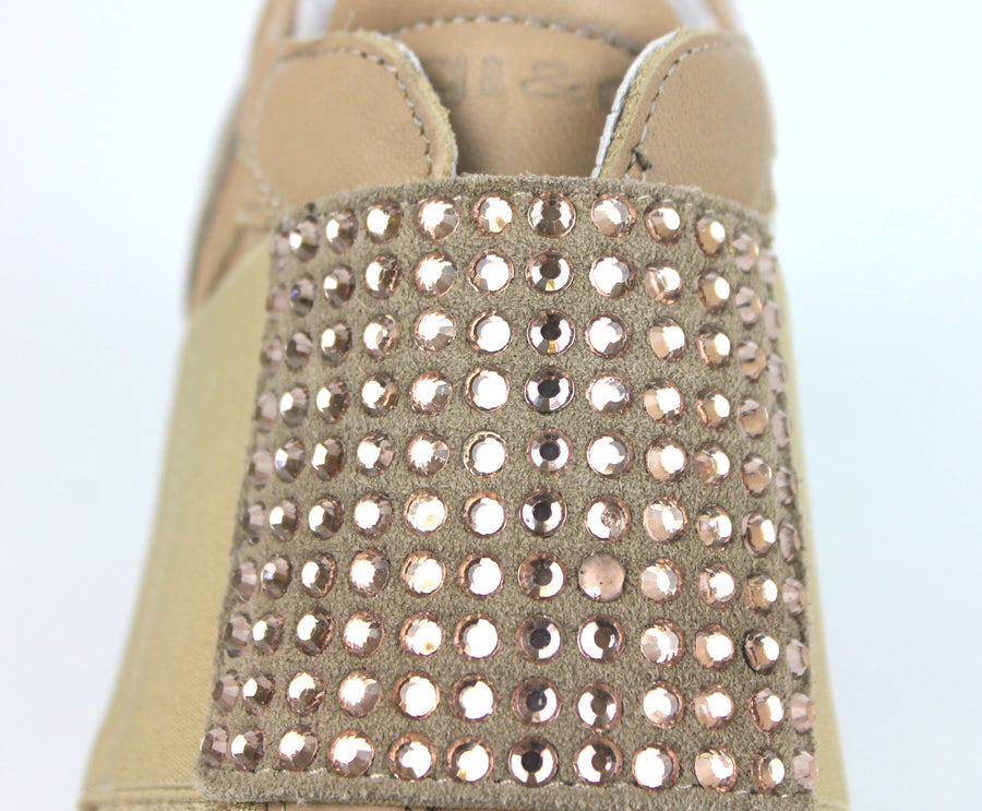 Igi & Co 3162822, Wedge Slip on casual shoe, Colour Beige with Diamante detail, Ireland Shoe Shops online, Shoe Style International, Location Wexford Gorey, Ireland
