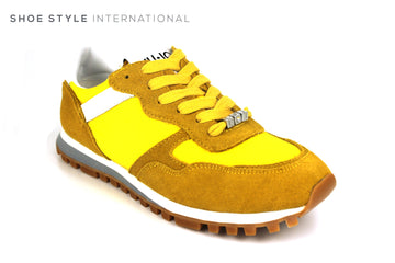 Liu Jo Alexa Running Fashion Trainers in Color Yellow Ireland Shoe Shops online, Shoe Style International, Location Wexford Gorey, Ireland