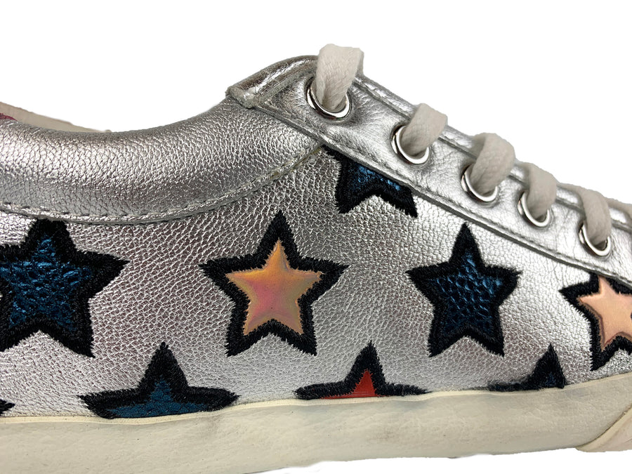 Ash Majestic Silver with Red Stars