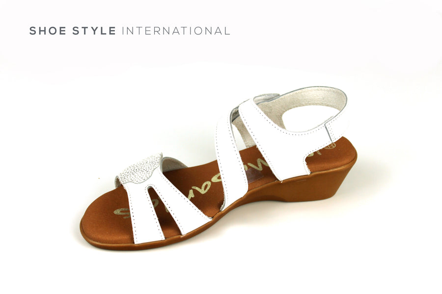 Oh My Sandals, Open Toe White Sandal, Shoes Online, Shoe Style International location Wexford, Gorey, Ireland