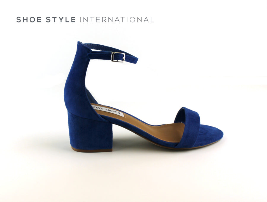Steve Madden Shoes low heel sandals with ankle strap in Blue, Shoe_Style_International-Wexford-Gorey-Ireland
