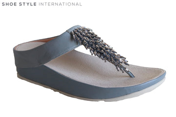 Fit Flop Rumba Toe Thong Grey
