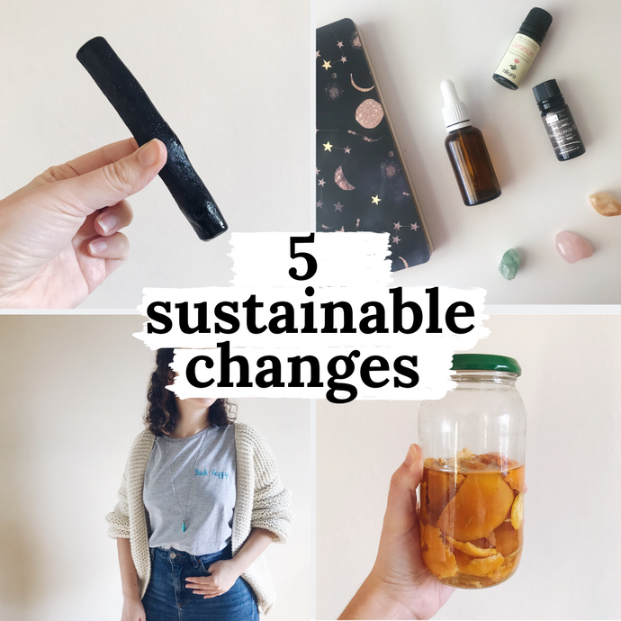 5 sustainable changes I made in my personal routine