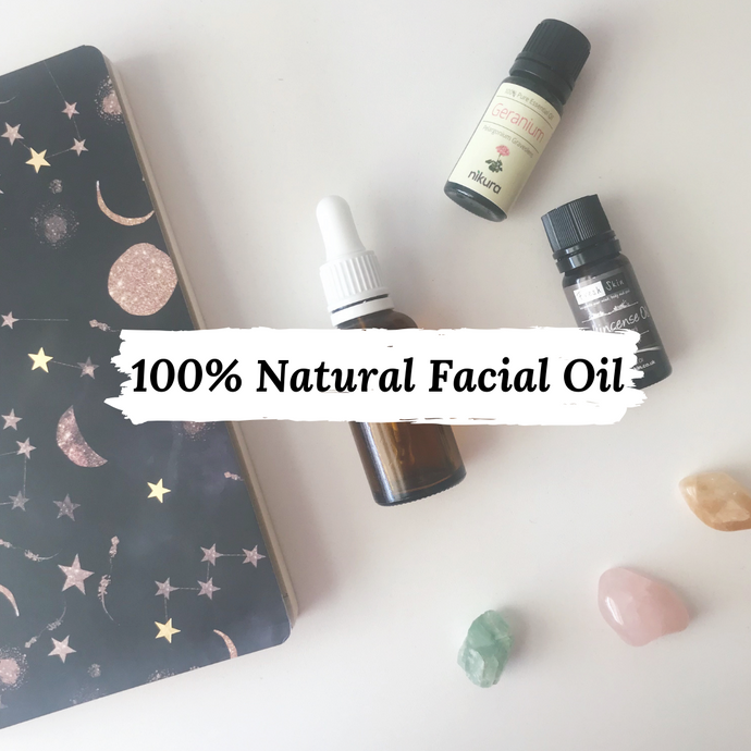 DIY - 100% Natural Facial Oil (Slow Beauty + Consumerism)