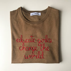 Educate girls Sweater