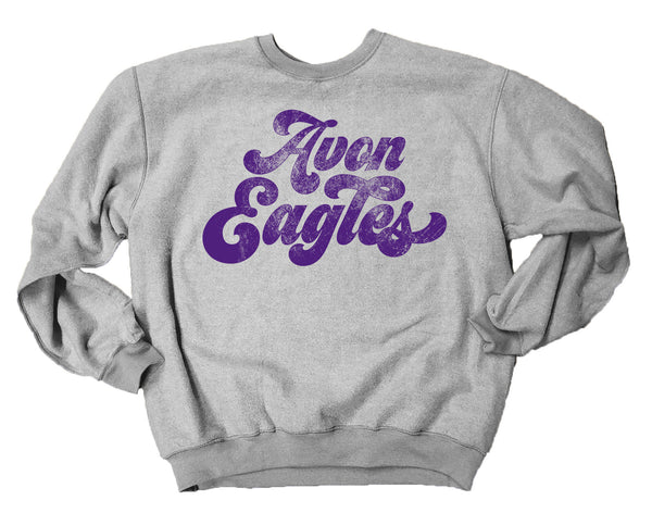 Avon Eagles Inside Out Sweatshirt