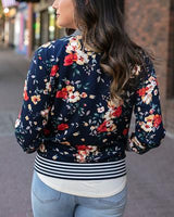 Grace and lace Floral Bomber Jacket