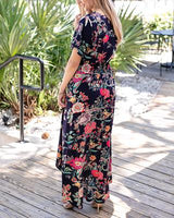 Grace & Lace Floral Button Up Maxi-Kimono