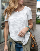 Grace and Lace Perfect scoop neck Tee