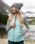 Grace and Lace Slim Fit Puffer Vest
