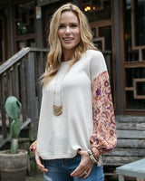 Grace and lace Thermal Combo Top