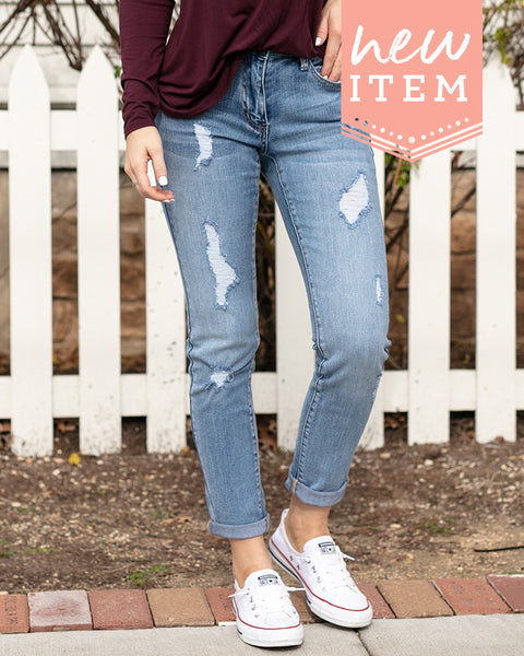 Grace and Lace Favorite Girlfriend Jeans