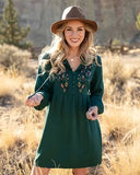 Grace & Lace Autumn Romance Dress