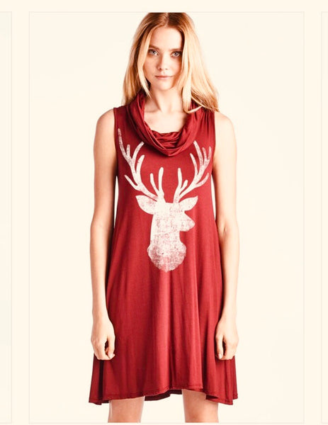 Distressed Reindeer Tunic