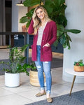 Grace and Lace Bamboo button cardi