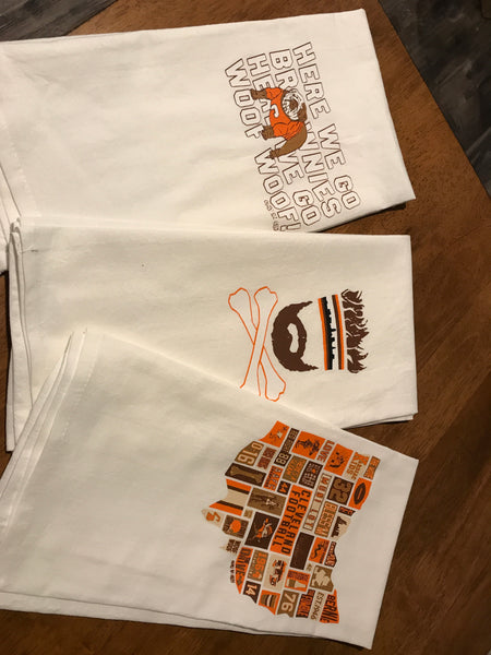 Browns Tea Towels