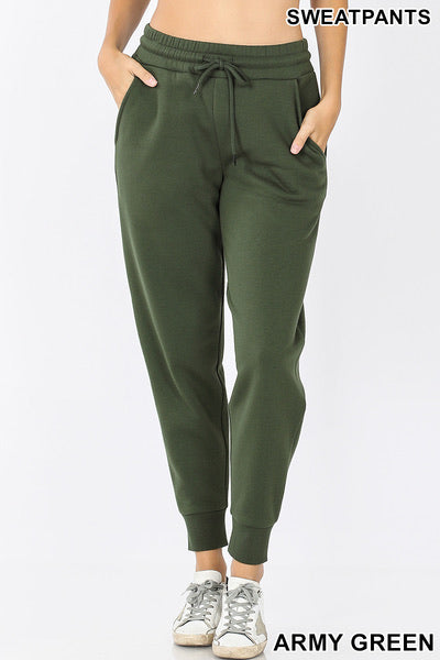 Zenana Jogger Sweatpants