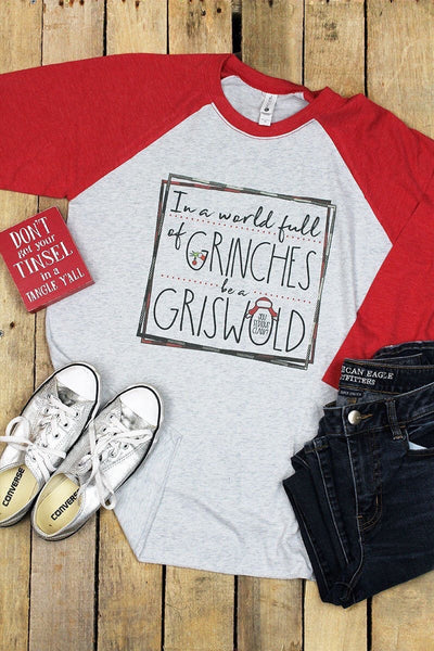 Xmas Tee Grinch & Griswold shirt