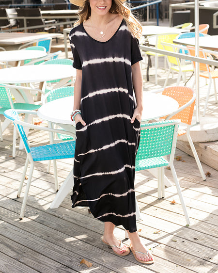 Perfect Pocket Tee Maxi Dress