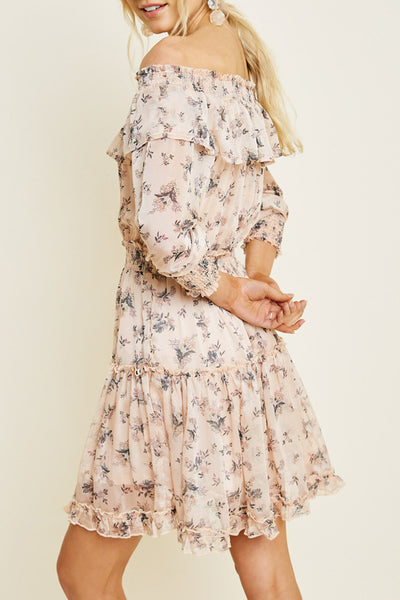 Ruffle Fields Dress
