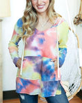 Grace and Lace tie-dye hoodie