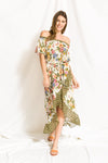 Tropical Vacation Maxi Dress