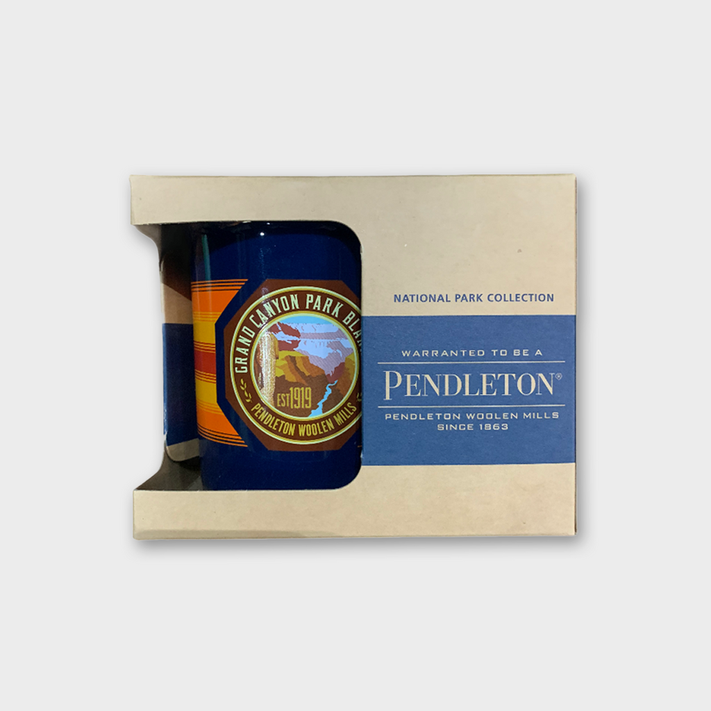 PENDLETON USA Grand Canyon National Park Oversized Ceramic Mug - Navy Blue