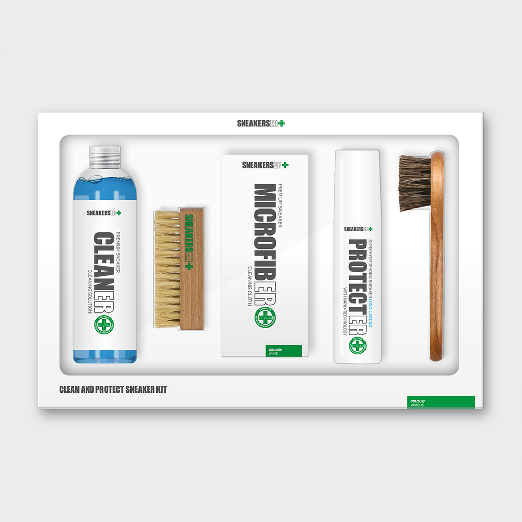 CLEAN & PROTECT - 5 Piece Sneaker Kit