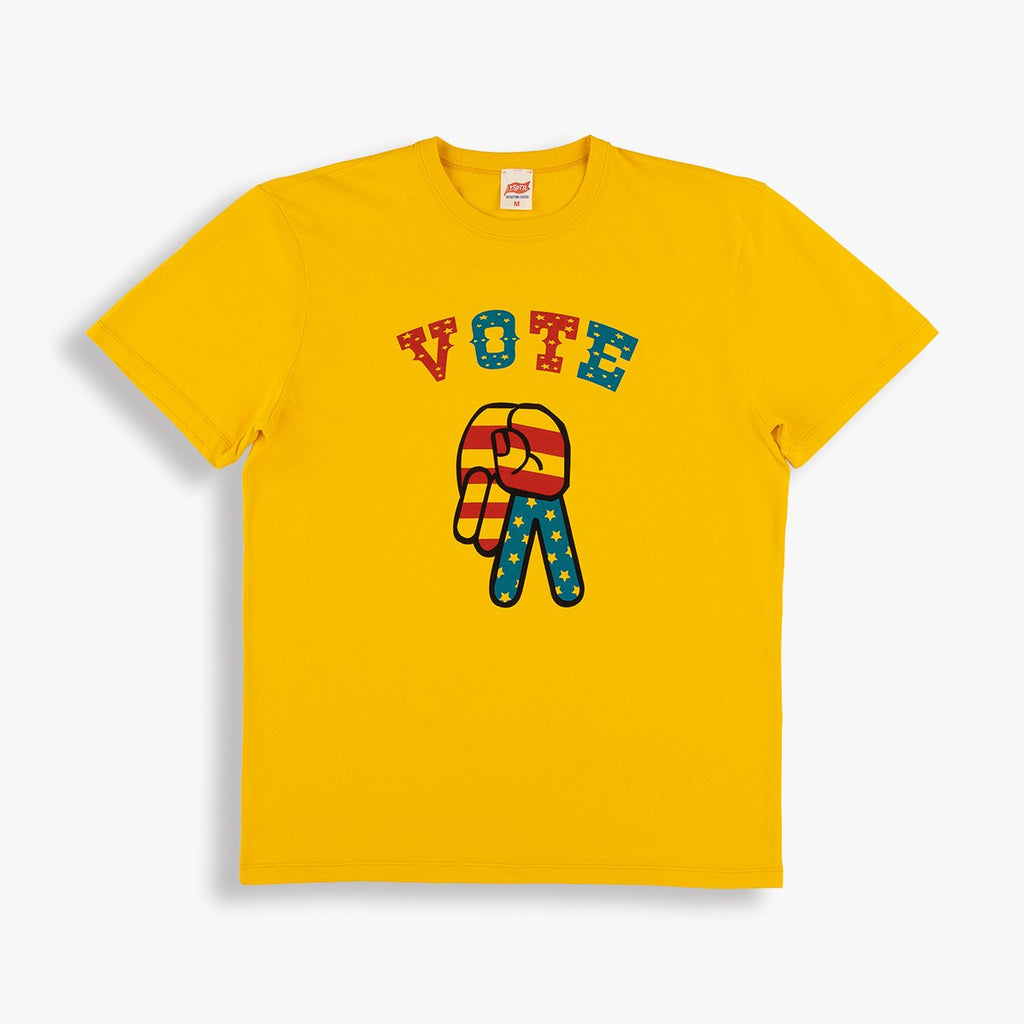 TSPTR Vote TSPTR Tee - Yellow