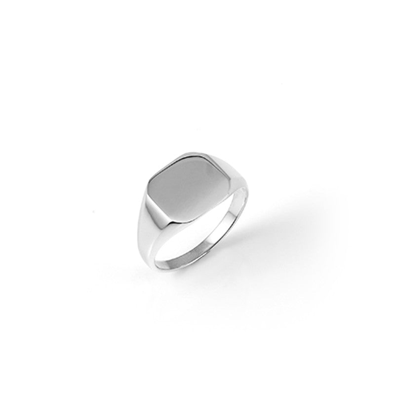 A.Kjaerbede 316 Stainless Steel Bech Ring - Silver