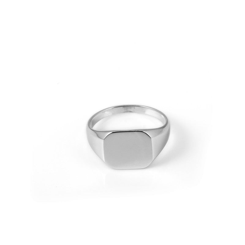 A.Kjaerbede 316 Stainless Steel Ring - Silver